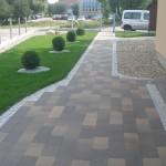 Garden natural stone